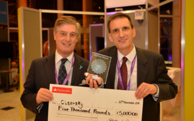 ClearSky is 'pitch-perfect' at Yorkshire's Venturefest