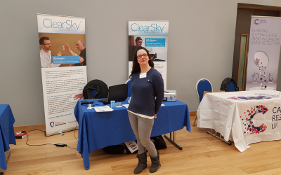 Team hosts stand at Edinburgh HIT Research Festival