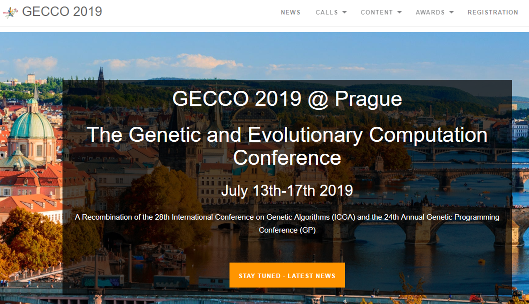 CF-Monitor to feature in MedGEC Workshop at GECCO 2019