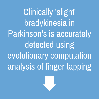Finger Tapping clinical study